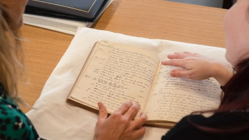 Explore Your Archive - Lowri Morgan at Glamorgan Archives 3