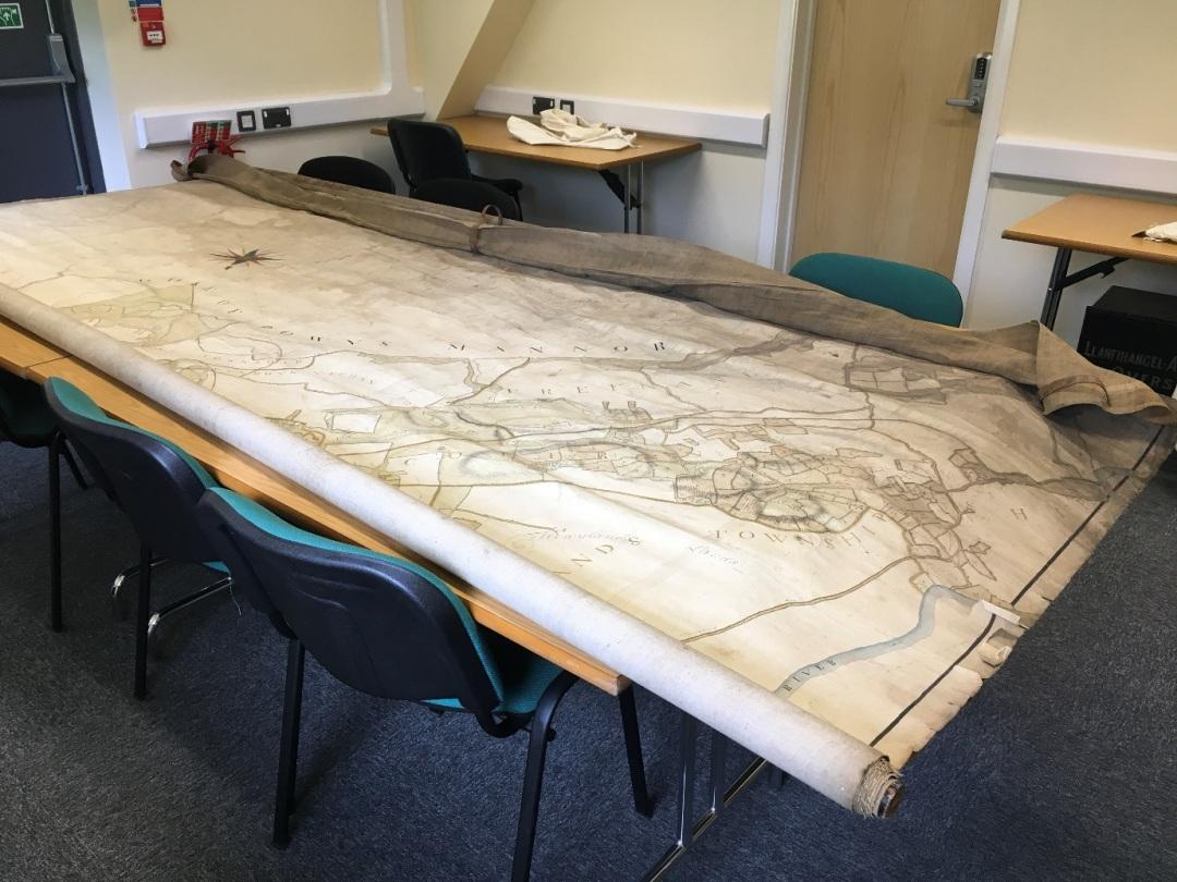 Powys Deuddwr Estate Map 17478 1