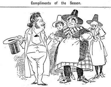 Compliments of the season Cardiff University Archives Barbier 1