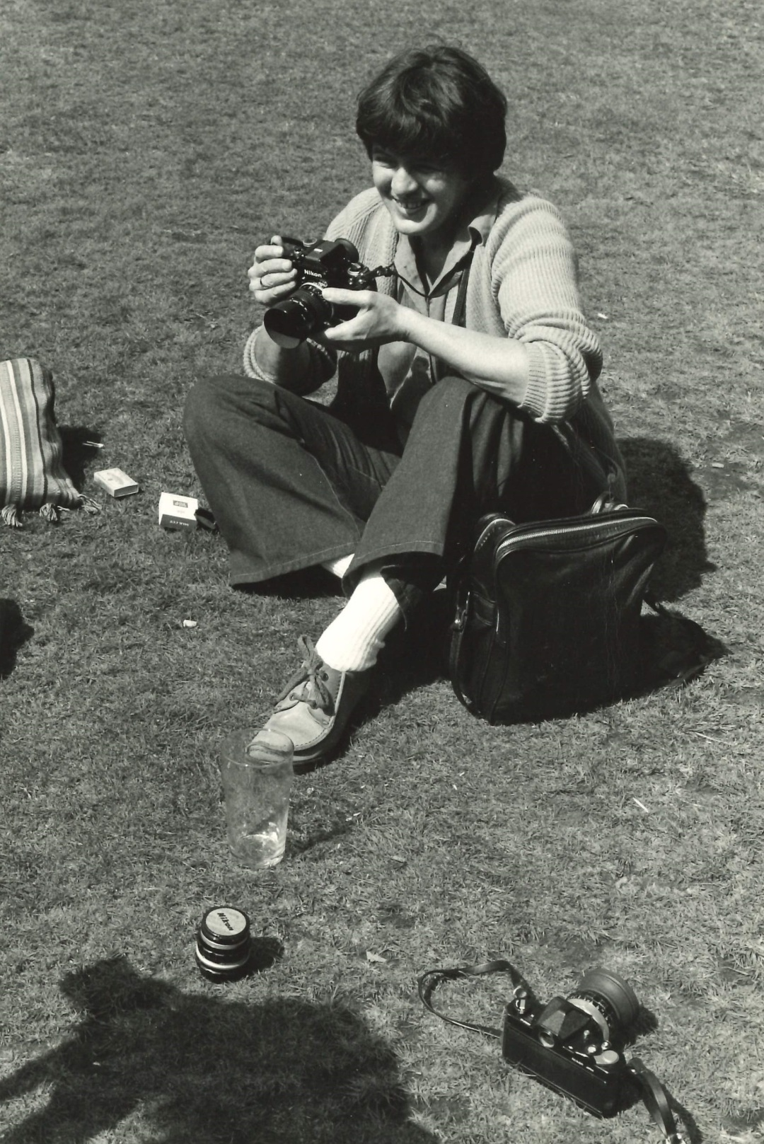 Photograph of Raissa Page, early 1980s, photographer unknown, thanks to Richard Burton Archives, Swansea University